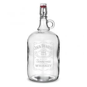 Скляна пляшка з гравіюванням (2 л)