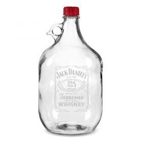 Скляна пляшка з гравіюванням (5 л)