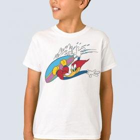 """Футболка з принтом """"Вуді Вудпекер серфінгіст"""""""