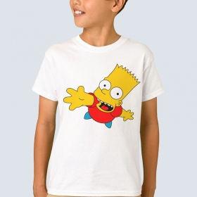 """Футболка з принтом """"Барт Сімпсон"""""""