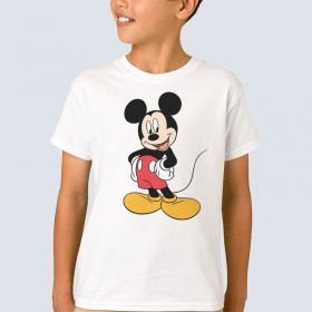 """Футболка з принтом """"Mickey Mouse"""""""