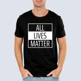 Футболка з принтом All Lives Matter (FTB-69)