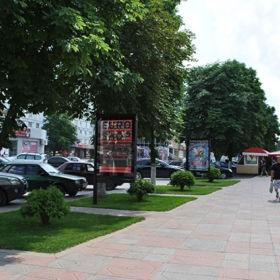 Оренда відео сітілайта по вул. Гетьманська, 39 (HC-2-A)