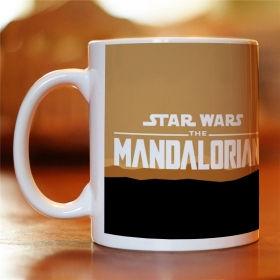 """Чашка з картинкою """"Зоряні війни: Мандалорець"""""""