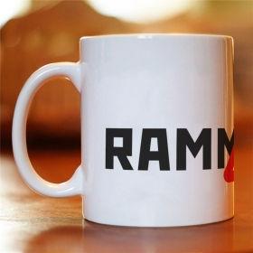 Чашка з написом Rammstein Шипи (MUG-76)