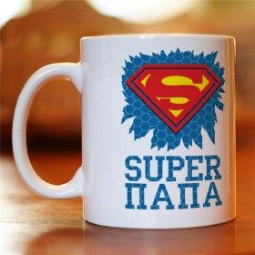 Чашка з картинкою Super Тато (MUG-78)