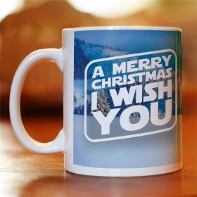 Чашка a Merry Christmas I Wish You (MUG-90)