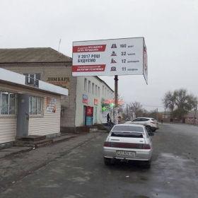 Оренда білборда в м. Перещепине, Базарна площа (P3)
