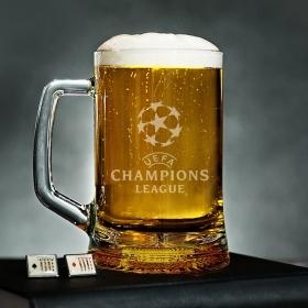 Пивний келих 0.5 з гравіюванням UEFA Champions League (BN-PK15)