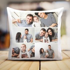 Подушка с фотографией (коллаж)