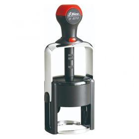 Металева, автоматична оснастка для круглої печатки D40 мм