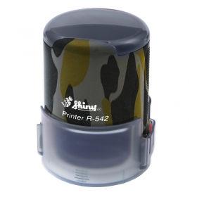 """Оснастка автоматична, пластикова для круглої печатки D42 мм серія """"Мілітарі"""""""