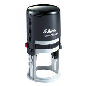 Оснастка автоматична, пластикова для круглої печатки D52 мм (двоколірна подушка)