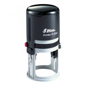 Оснастка автоматична, пластикова для круглої печатки D52 мм