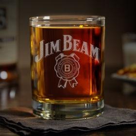 """Іменна склянка для віскі """"Jim Beam"""""""
