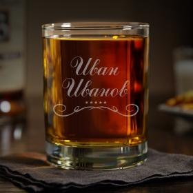 Подарункова склянка для віскі Іменний (SW-PK01)